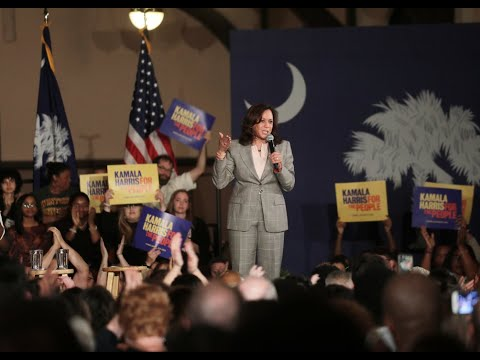 'Let's Speak Truth': Presidential Hopeful Kamala Harris Lays Out Ideals And Plans In Rock Hill