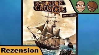 Robinson Crusoe, Die Fahrt Der Beagle (erweiterung) - Brettspiel Test - Spiel - Rezension #53