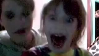 Scary girl scream!