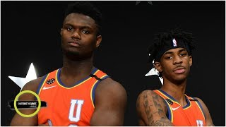 Zion Williamson and Ja Morant put on a show in the NBA Rising Stars Game | OTL