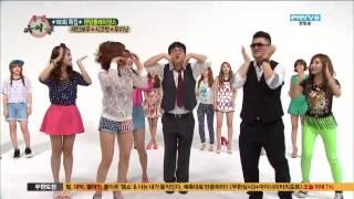 130619 주간아이돌 E100 레인보우,시크릿,포미닛 Part 1