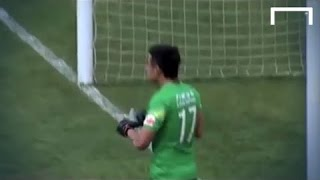 Goalkeeper gets FINED after conceding whilst drinking