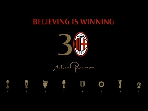 30 year anniversary of Silvio Berlusconi