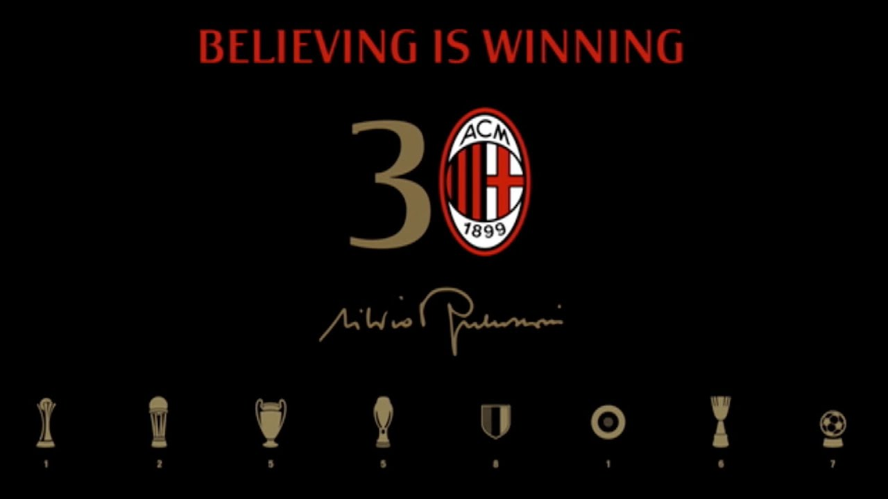 30 year anniversary of Silvio Berlusconi's presidency | AC Milan Official