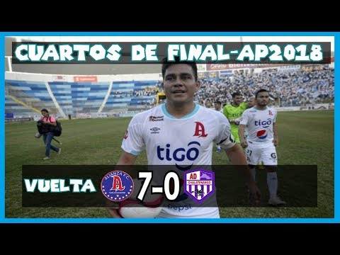 Alianza FC [7] vs. Chalatenango [0] [CDF/Vuelta] FULL GAME: 12.2.2018: ES Apertura 2018