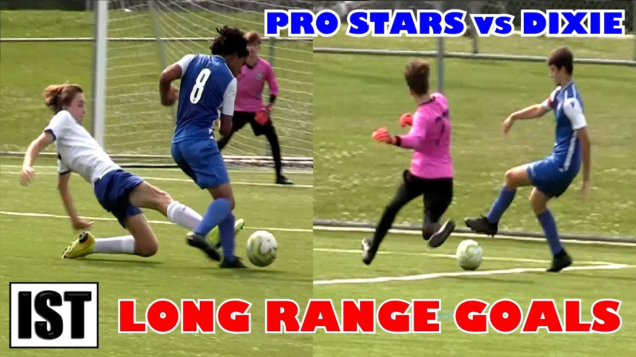 Long Range STUNNERS in U15 Cup MATCH!  Pro Stars FC vs Dixie - Ontario Cup!