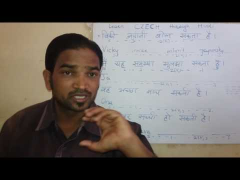 Learn Czech through Hindi.      Language Learning Centers.