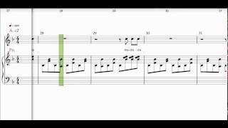 Orff , Carmina burana , Veni veni venias , slow , Alto , choir 2