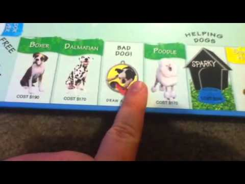 Dog Opoly Review Not A Liscensed Monopoly Game Youtube