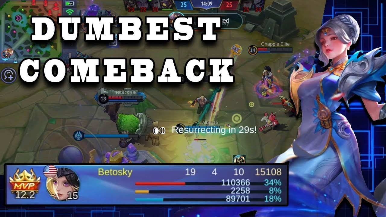 MUST WATCH! THE DUMBEST COMEBACK EVER | Mobile Legends
