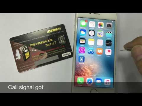 heicardsim 7 unlock iphone6/6P with USIM 4G