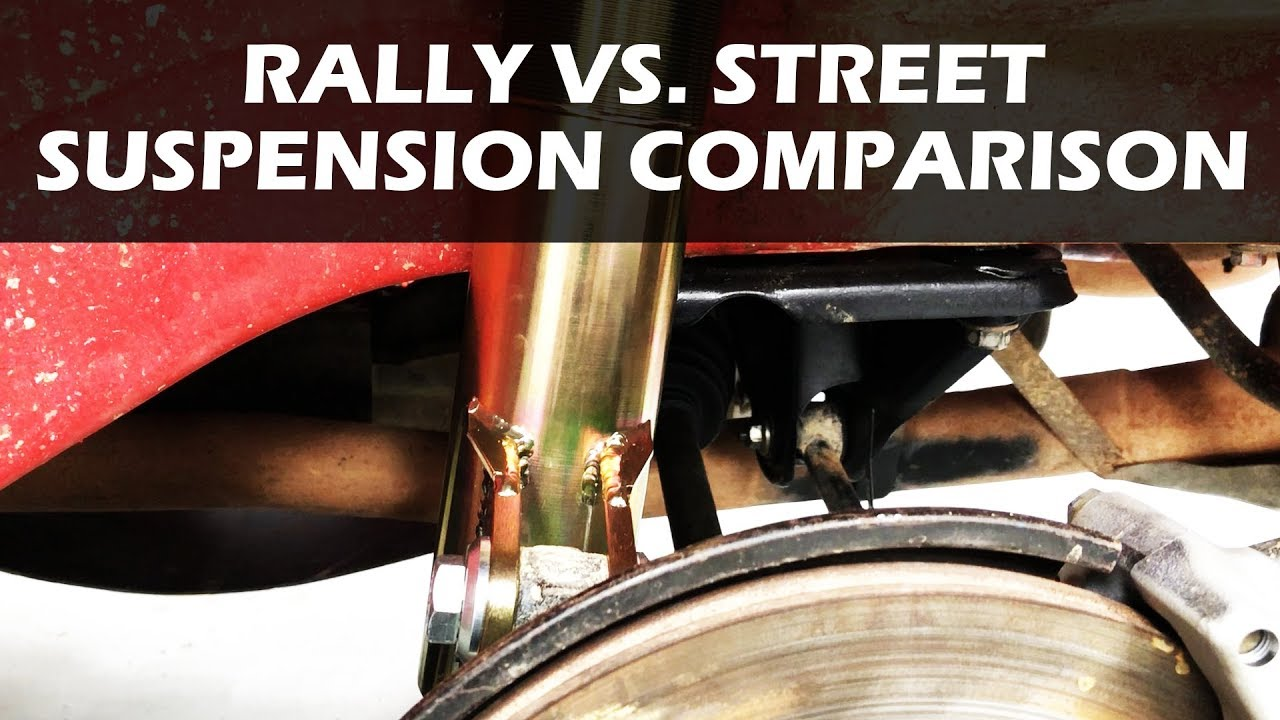 What's the difference between Rally and Street Shock Absorbers?