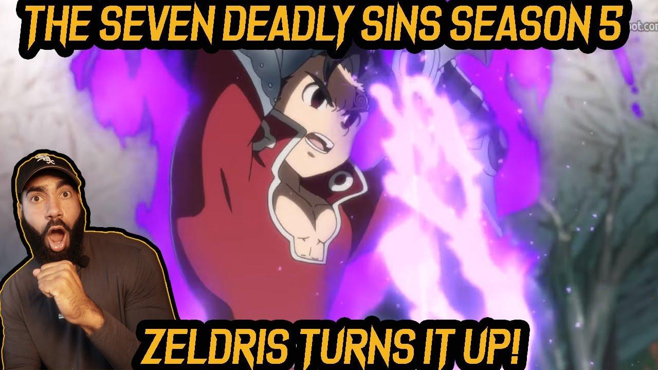 Download ZELDRIS USES HIS POWER!  SEVEN DEADLY SINS SEASON 5 EP. 2 REACTION!