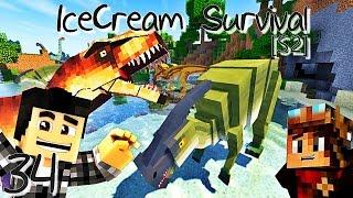 NOTRE ARMÉE DE DINOSAURES ! | IceCream Survival [S2] ! #Ep34