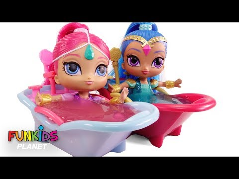 Thumbnail: Shimmer and Shine Slime Bath Surprises LOL Surprise Series 2 & Paw Patrol