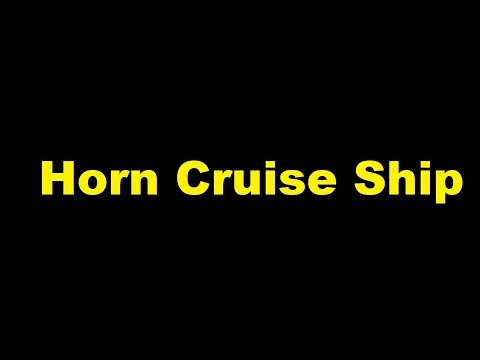 Horn Cruise Ship Sound Effect YouTube - Cruise ship sound effects