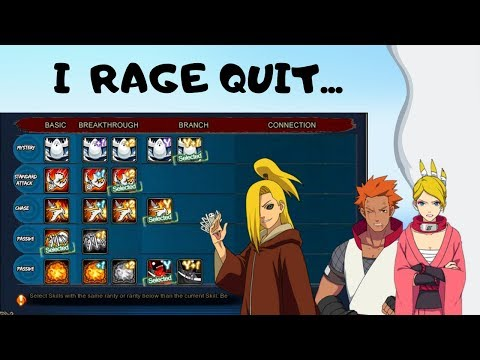 Naruto Online    Cocky Whale Rage Quits Sage! SB Edo Deidara Gameplay!