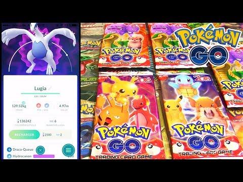 Ouverture Booster Pokémon GO + RAID LUGIA POKEMON GO !!