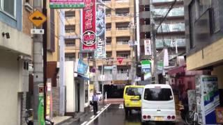 Rainy Osaka Side Streets