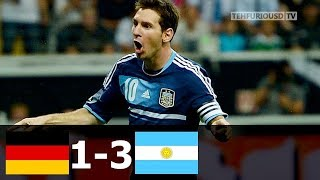 Germany vs Argentina 1-3 All Goals and Extended Highlights (Friendly) 2012-13