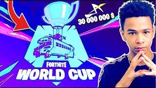 🔴ON REGARDE LA WORLD CUP FINALE DES DUO DE FORTNITE À 18H ! | !concours Code créateur: Kenzis