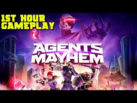 Agents of Mayhem 1st Hour Gameplay Walkthrough - Prologue & Introductory Missions
