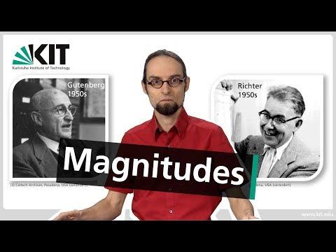 Basic Geophysics: Earthquake Magnitudes