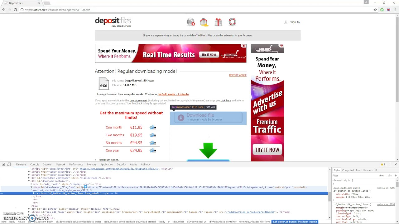 How to download from depositfiles 62