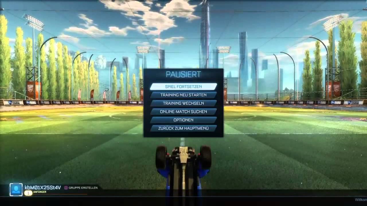 Rocket League Tutorial & Garage - YouTube