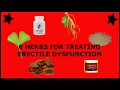 6 Herbs For Treating Erectile Dysfunction | ED Natural Treatment