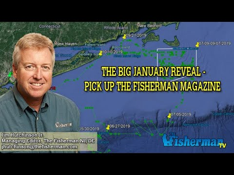 January 2, 2020 New Jersey/Delaware Bay Fishing Report With Jim Hutchinson, Jr.