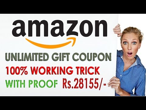 FREE Get Unlimited Amazon Voucher | Free Gift Card | With *Proof* Rs. 28155/-
