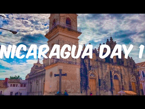 Nicaragua  travel vlog day1/ exploring granada and masaya volcano