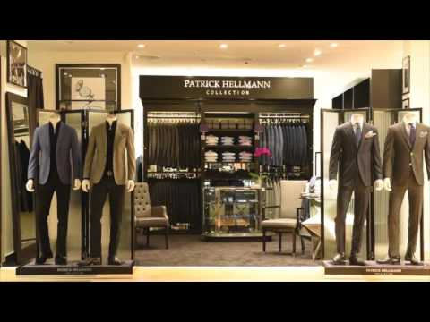 patrick hellmann collection the new shop in the kadewe kaufhaus des westens berlin youtube. Black Bedroom Furniture Sets. Home Design Ideas
