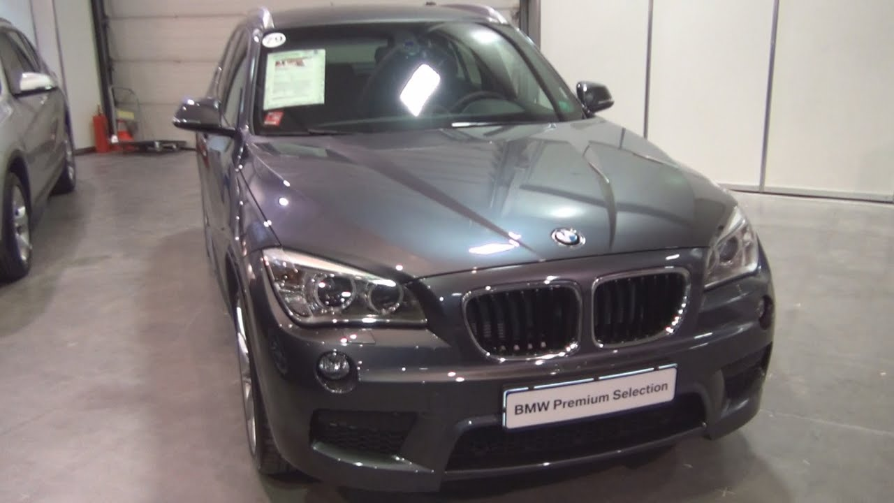 BMW X1 XDrive 18d Mineral Grey 2014 Exterior And Interior In 3D