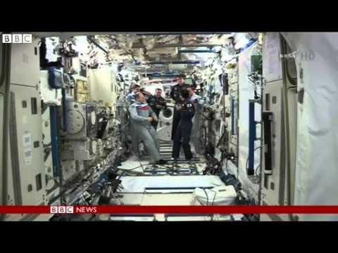 BBC News   Koichi Wakata becomes International Space Station's first Japanese commander