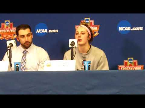 Colgate Women's Frozen Four Championship Press Conference