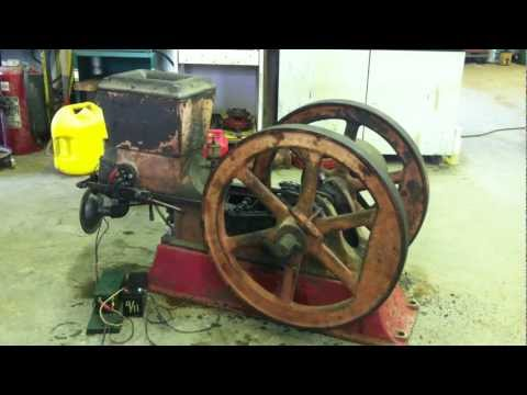 1921 5hp Majestic Waterloo Hit and Miss antique gasoline engine