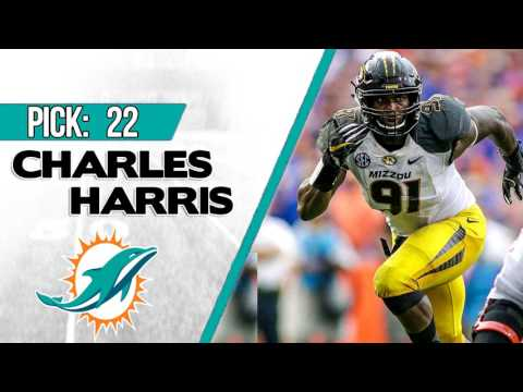 MIAMI DOLPHINS SELECT CHARLES HARRIS 22ND OVERALL | 2017 NFL DRAFT