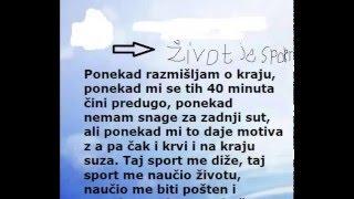Sport je zivot i zivot je sport