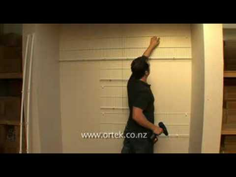 Ortek Quality Wardrobe Organiser Installation