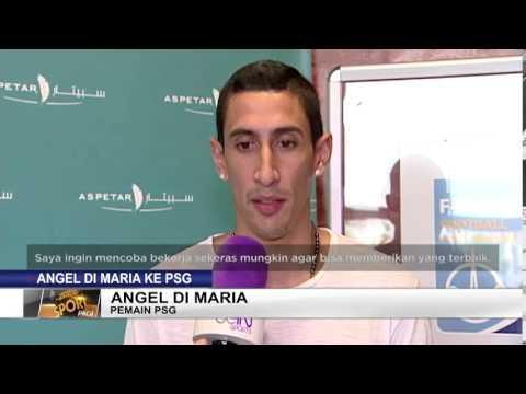 Angel Di Maria Resmi Ke PSG