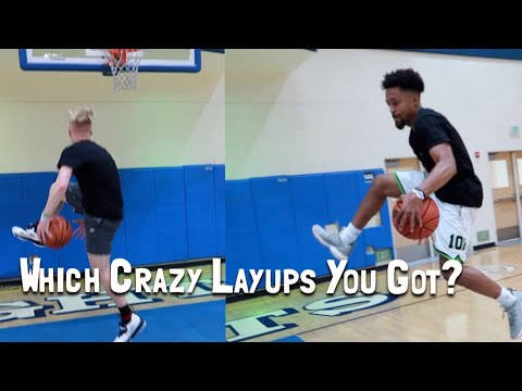 The Different Types Of CRAZY LAYUPS! W Marcelas Howard!