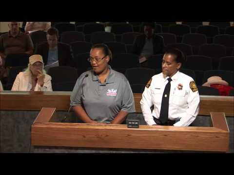 City Council Meeting July 25, 2017