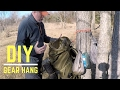 Backpacking Ultralight Gear Hang DIY for your camp site