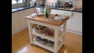 Kitchen Island Laura Ashley Pale Linen