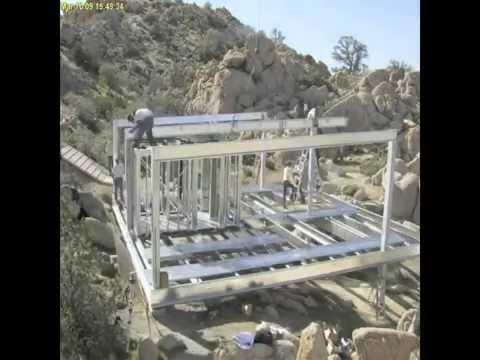 บ้าน 5 วัน ขั้นตอนการประกอบบ้านโครงสร้างเหล็ก