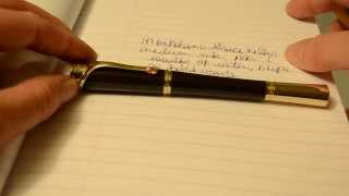 Grace Kelly Montblanc Fountain Pen Review