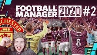 Football Manager 2020 Manchester United #2 FM20 LIVE