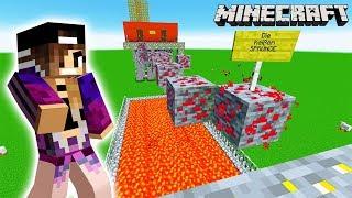 Minecraft: ENTKOMME VOR LAVA + EIS! SCHAFFT ES NINA DIE OBBY VON KAAN ZU ÜBERLEBEN?